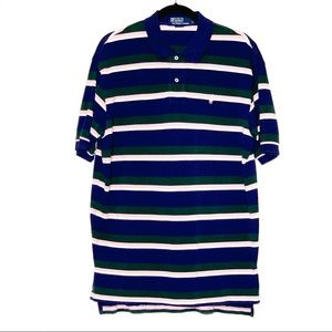 POLO BY RALPH LAUREN STRIPED SHIRT | SZ LARGE